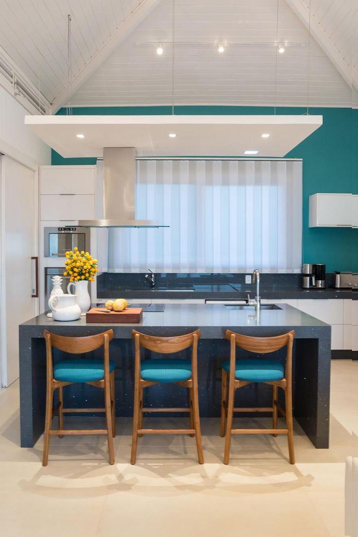 Cozinhas coloridas: 85 fotos de cozinhas alegres e lindas