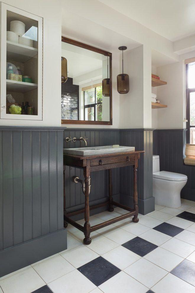 Top 25 best wainscoting ideas ideas on pinterest for Bathroom wainscoting ideas