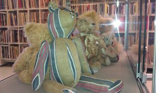 Cultural content for the whole community: Exhibition of hand made teddy bears and a workshop in the libraryof Kokemäki,Finland.