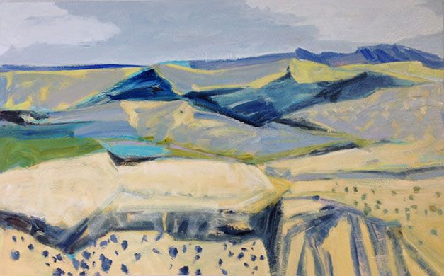 """Artworks - Jo Bertini. """"Pantoowarinna Hills"""""""