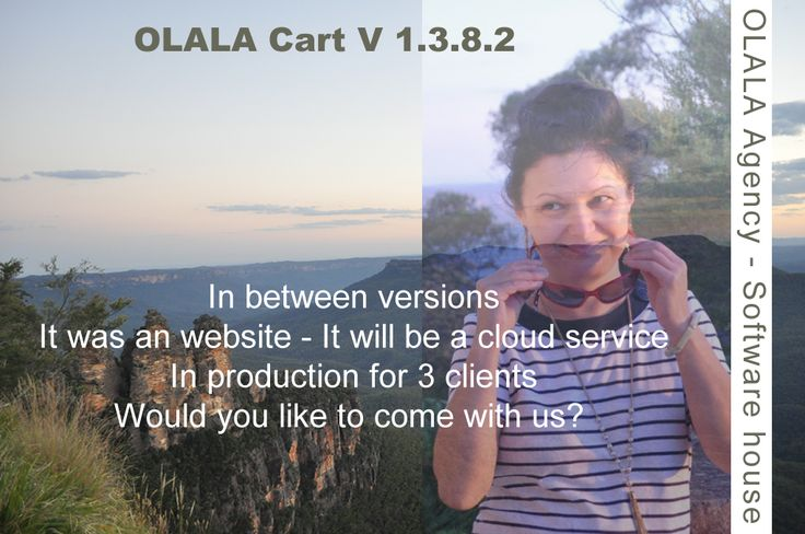 OLALA Cart 1.3.8.2 is in production for 3 clients. Is an in between version. It was an website - it will be a cloud service.  Would you like to come with us?