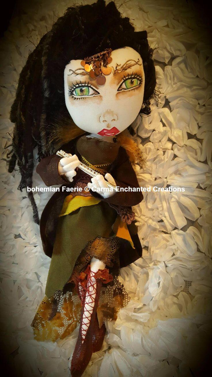 Bohemian Faerie By Carma Enchanted Creations