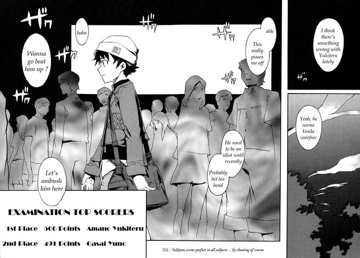 Read manga Mirai Nikki 001 online in high quality