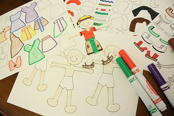 """THUMBS UP! These are great. they are very easy to print. We are making some for FHE tonight and the kids are excited about using them to """"act out"""" the BOM stories. Book of Mormon Paper Dolls Free Printable!"""