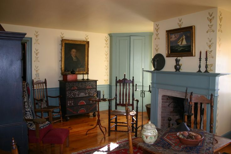 107 Best Images About Period Colonial Room Settings On Pinterest House Fireplaces