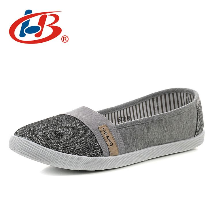 LIBANG Classic Flat Shoes Woman Comortable Casual Flats Outdoor Women's Shoes Slip On Cotton Fabric Shallow Ladies Shoes Autumn. Yesterday's price: US $39.90 (32.83 EUR). Today's price: US $15.96 (13.19 EUR). Discount: 60%.