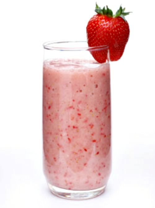 Strawberry Oatmeal Smoothie ~ 1 cup almond milk, ½ cup rolled oats, 1 banana (broken into chunks), 10 frozen strawberries, ½ tsp vanilla extract