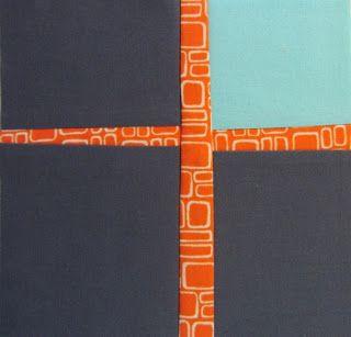 42 Quilts: Modern Monday--Cross                                                                                                                                                                                 More