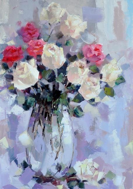 Гунин Александр. Натюрморт с розами