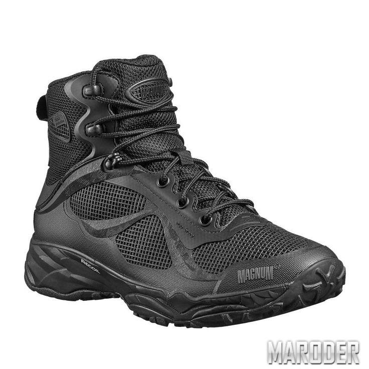 Тактические ботинки Magnum Opus mid Black – MARODER