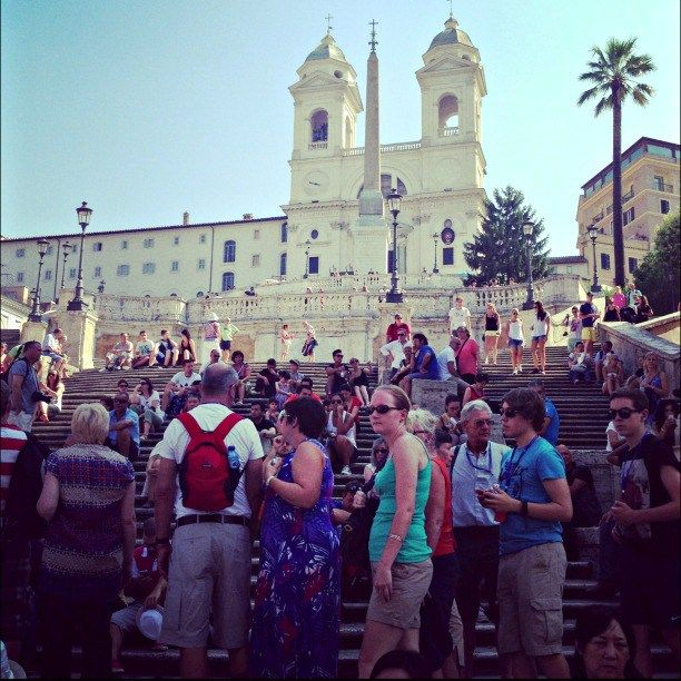 Rome in one day, Spanish Steps on instantlyitaly.com