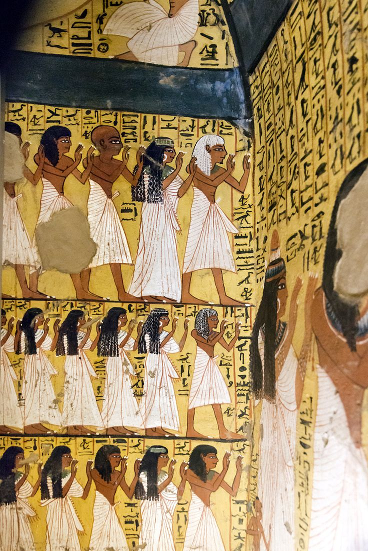 483 best images about egypte tombes on pinterest amon for Egyptian mural paintings
