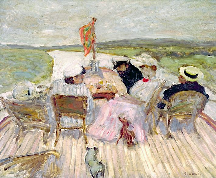 bofransson:    On the Yacht (oil on canvas), Bonnard, Pierre (1867-1947)