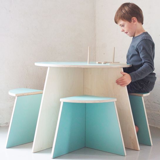 Kids modern table by Cirkel 2