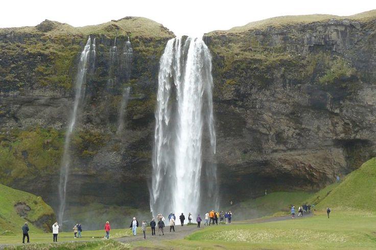 #Islande - Skogafoss - Annie Vialard