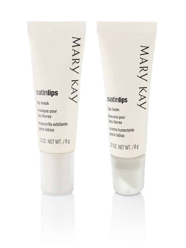 PUCKER UP for Valentines day with the Satin Lips® Set! Treat your lips to the ultimate two-step system that gently exfoliates and moisturizes your lips.    Satin Lips Lip Mask effectively exfoliates dead surface skin cells.  Satin Lips Lip Balm moisturizes lips for at least six hours.   $18.00  - Mary Kay