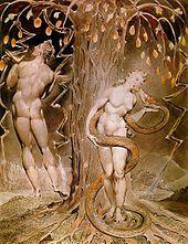 Paraíso Perdido – John Milton - Satã jura eterna vingança, fazendo uso do conhecimento do plano de Deus de criar uma nova criatura chamada Homem.  Depois de persuadir o Pecado é a Morte a abrirem as portas do inferno, Satã segue seu caminho para o Caos. Satã tenta Eva, que persuade Adão a comer a fruta proibida da Árvore do Conhecimento.