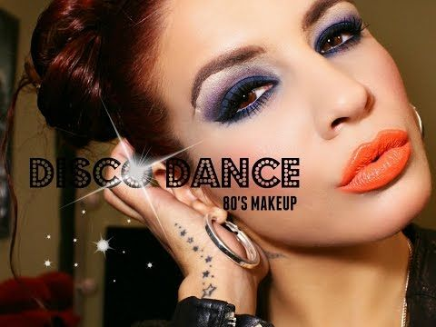 """Disco Dance 80´s Makeup"" 