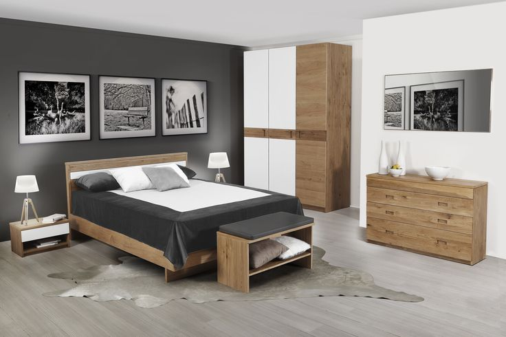 The beautiful and amazing form, comfortable as well. Venice collection, designed by Klose #bedroom #WoodenFurniture