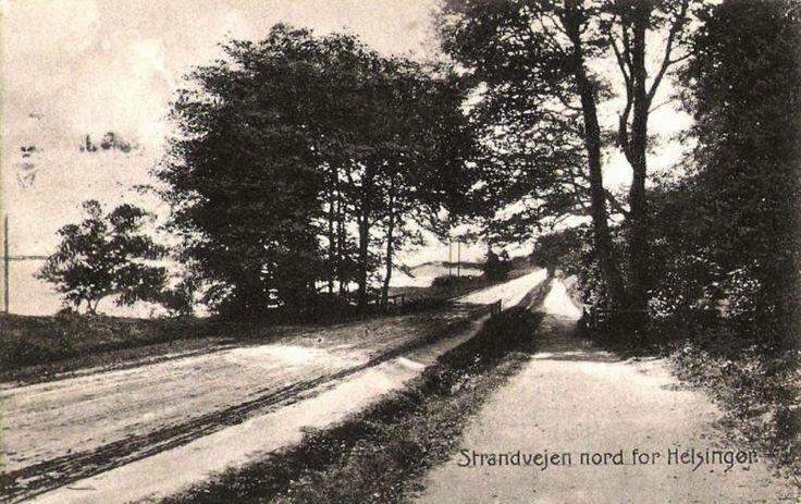 Strandvejen nord for Helsingør