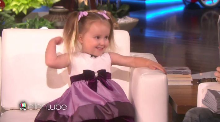 """You're making me feel bad about myself."" That's what Ellen Degeneres said to a guest on her show this week, 3-year-old Brielle from Salinas, California, who can recite the periodic table (with accompanying elemental facts), US states and capitals, the countries in Europe and Africa, and all the US Presidents"