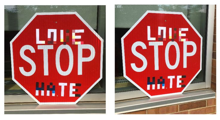 While car makers and regulators are mostly worried about the possibility of self-driving car hacks, University of Washington researchers are concerned about a more practical threat: defacing street signs. They've learned that it's relatively easy to throw off an autonomous vehicle's image recognition system by strategically using stickers to alter street signs.   #computer news #computer technology #gaming #internet news #mobile tech news