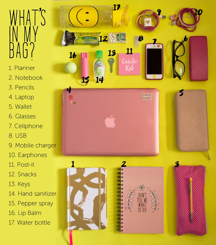 What's in my bag? School Essentials