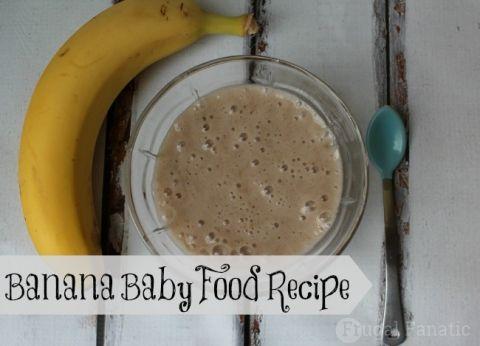 How To Make Banana Baby Food