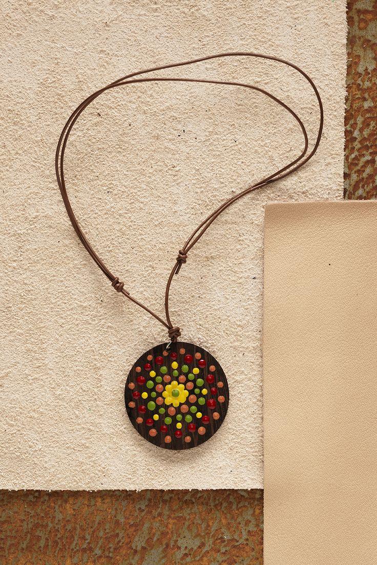 Necklace www.panduro.com Jewellery by Panduro #jewellery #jewelry #necklace #smycken #halsband #DIY