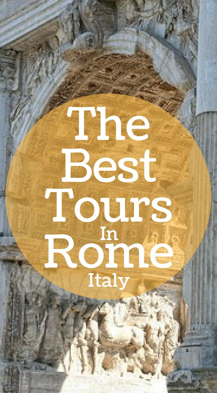 The best tours in Rome Italy. We have put together the tours you must take and experience to make you're Rome trip a trip of a lifetime. These are the best tours you need to take in Rome Italy. Click to read more at http://www.divergenttravelers.com/3-days-in-rome-things-to-do/