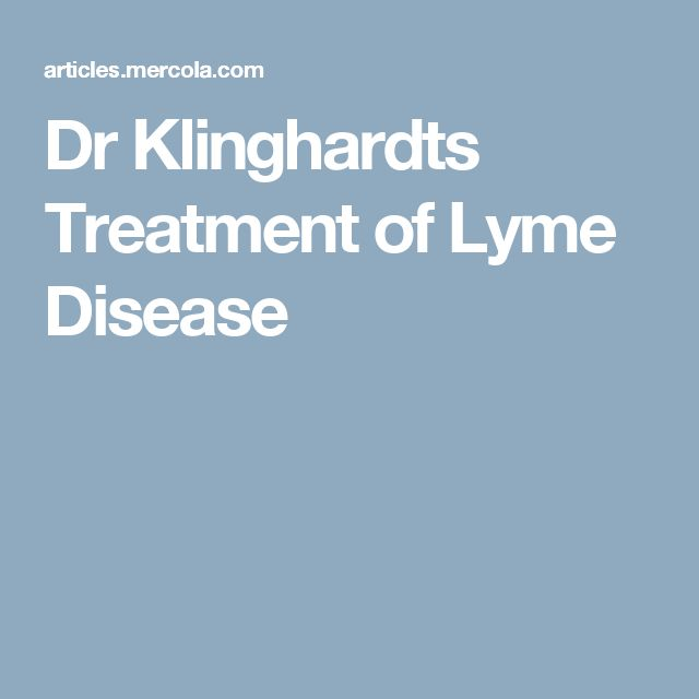 "Dr Klinghardts Treatment of Lyme Disease ""We never had, in the last 5 years, a sing ALS patient, a single Parkinson's patient, a single MS who did not test positive for Borrelia Burgdorferi.  Not a single one. """