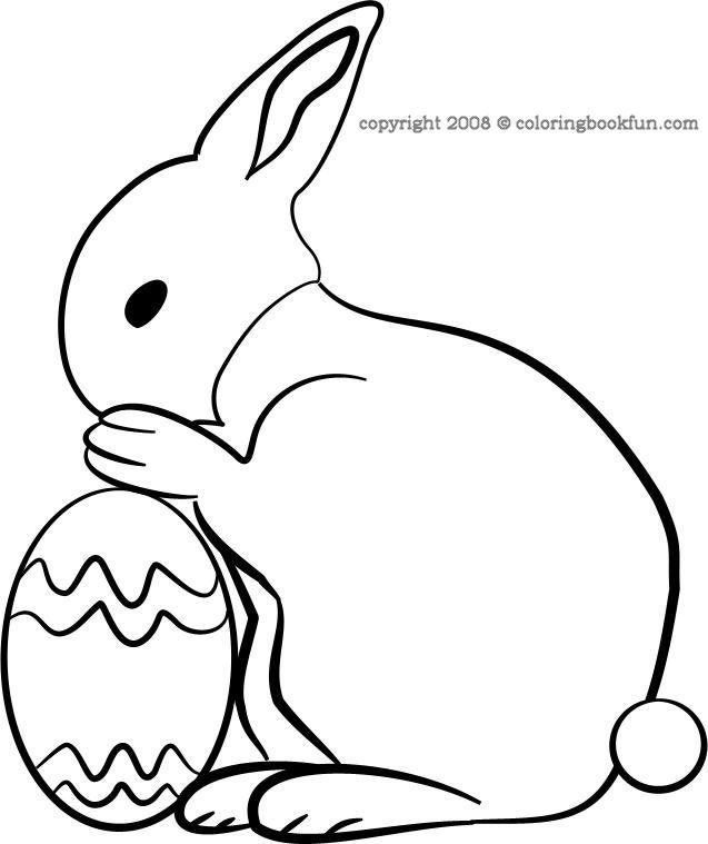 Give A Like For This Adorable Easter Coloring Page