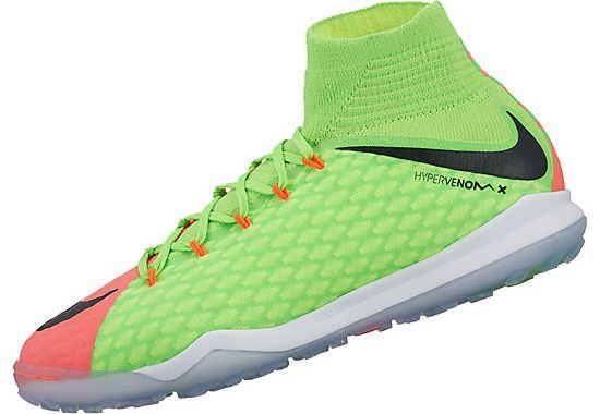 Buy the Kids Nike HypervenomX Proximo TF shoes. Get them from www.soccerpro.com