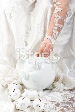 Wedding Savings Royalty Free Stock Photo