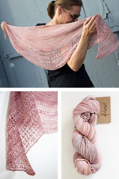 Ravelry: Rosewater shawl with Manos del Uruguay Fino - knitting pattern by Janina Kallio.