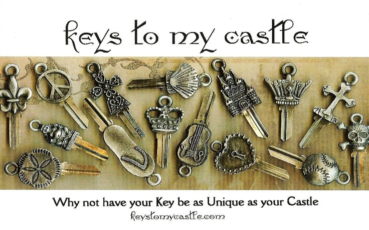 once upon a time...the original keys to my castle®