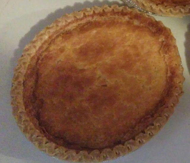 Homemade Buttermilk Pie In 2020 Easy Desserts Homemade Buttermilk Dessert Recipes