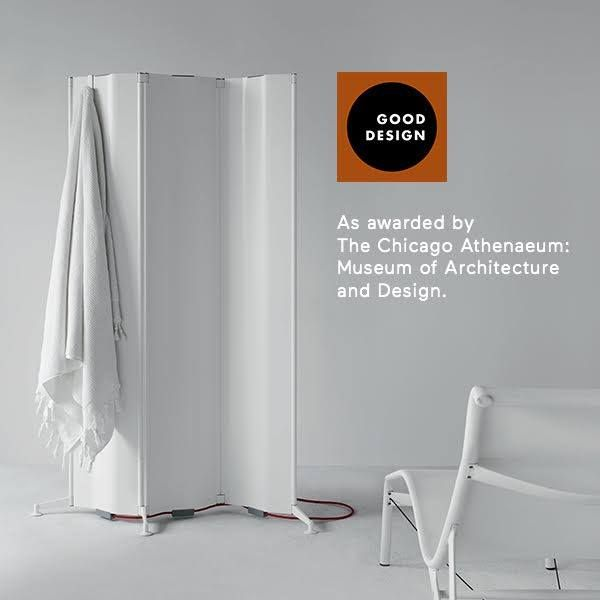 Origami, the new radiator designed by Alberto Meda, has won the Good Design Awards 2016.  Organized by the Chicago Athenaeum - Museum of Architecture and Design in collaboration with the European Centre for Architecture, Art, Design and Urban Studies, it is awarded every year to the most innovative products at an international level.  We are very proud to have obtained such an important award (second time for Tubes ). #Tubesradiatori