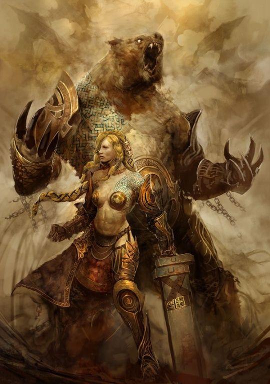 Breathtaking Fantasy Artworks by Kekai Kotaki - http://www.cruzine.com/2012/09/25/fantasy-artworks-kekai-kotaki/
