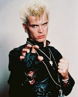 Billy Idol ---thought he was sooo hot back in the day...