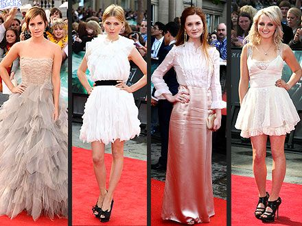 Emma Watson Harry Potter And The Deathly Hallows Part 2 Premiere Dress 43 best images ...