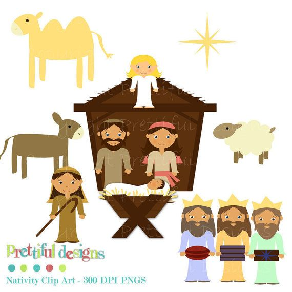 17 best ideas about Nativity Clipart on Pinterest | Christmas ...