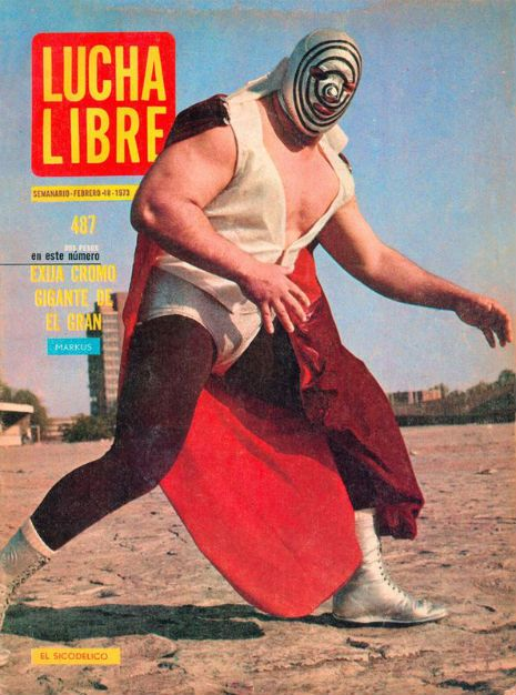 Awesome Lucha Libre magazine covers from the 1970s   Dangerous Minds