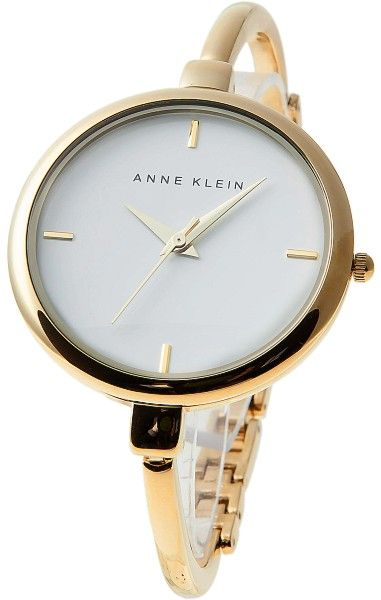 Anne Klein Watch , Anne Klein Women's AK/1048WTGB Gold-Tone Illusion Bangle Watch...$54.99