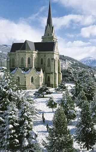 The Cathedral of Bariloche is one of the most beautiful places to visit in this beautiful city of Bariloche in Argentina.