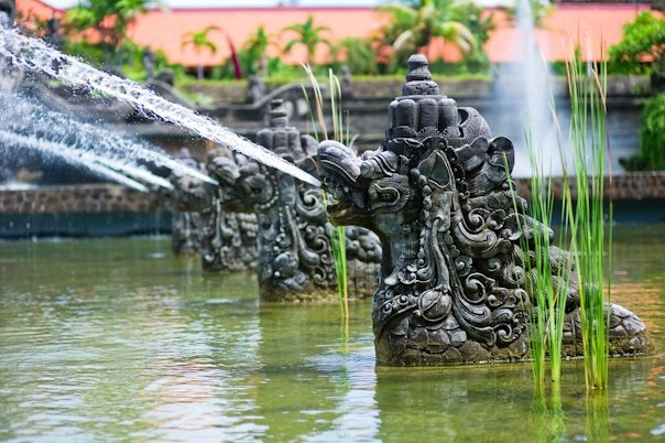 The Pond of the Kingdom, Ayodya Resort, Nusa Dua - Bali, Indonesia