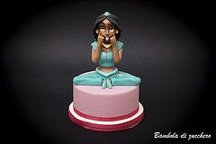 Jasmine (Temba81) Tags: cake design artist princess sweet jasmine decoration disney pasta sugar wife compleanno modelling torta aladin topper torte decorazione decorazioni bambola zucchero linguaccia principessa pdz aladino cakedesign cartoneanimato pastadizucchero sugarartist bamboladizucchero
