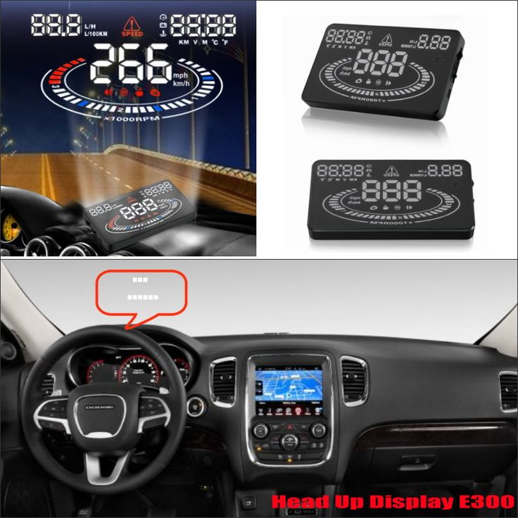 For Dodge Dakota / Durango 2015 2016 Car Head Up Display Saft Driving Screen Projector - Refkecting Windshield