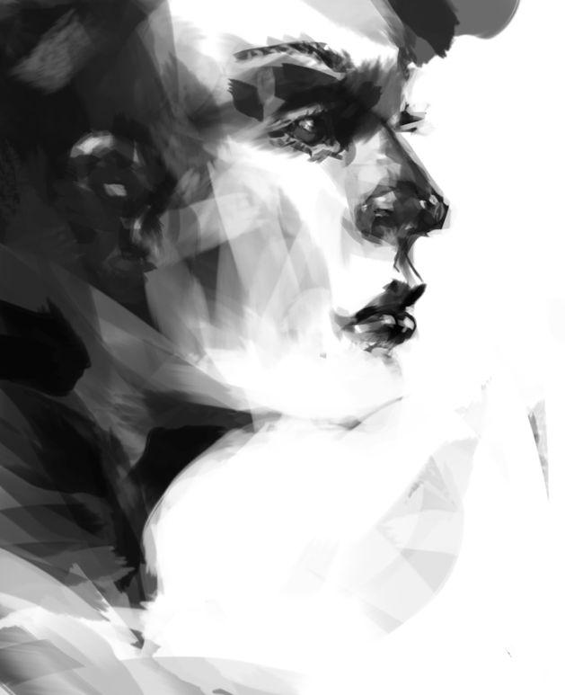 henrychristianslane:Digital painting. S)