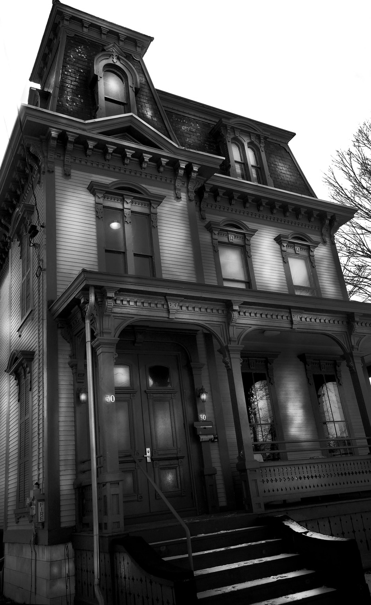 Black Gothic Victorian House